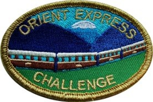 Orient Express Challenge Badge